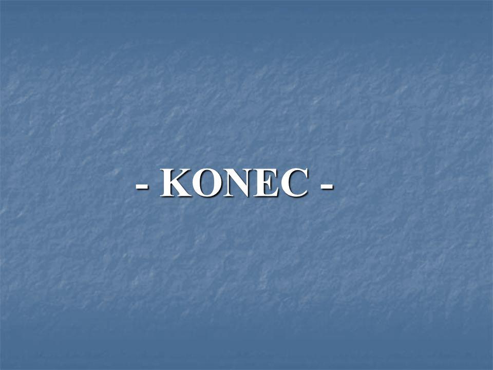 - KONEC -