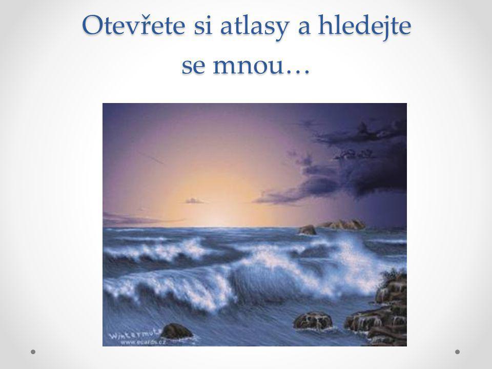Moře Moře = menší části oceánů Moře – vnější - obklopena souší (Černé moře) - okrajová – spojena s oceánem (Barentsovo moře)