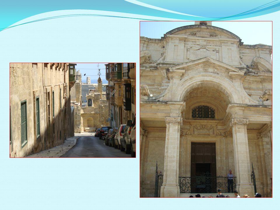 Valletta - - město památek.