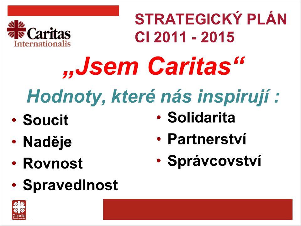 STRATEGICKÝ PLÁN CI 2011 - 2015 Strategické principy: aktivní milosrdenství podpora celostního rozvoje lidské bytosti advokacie za lepší svět silnější a efektivnější konfederace