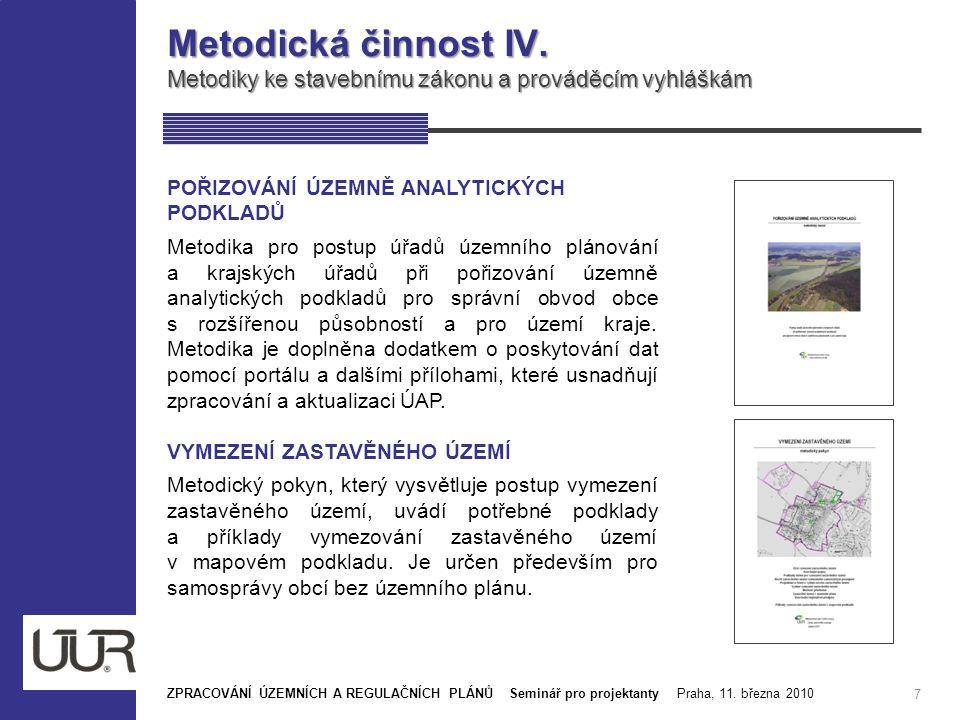 Publikační činnost ÚÚR III.