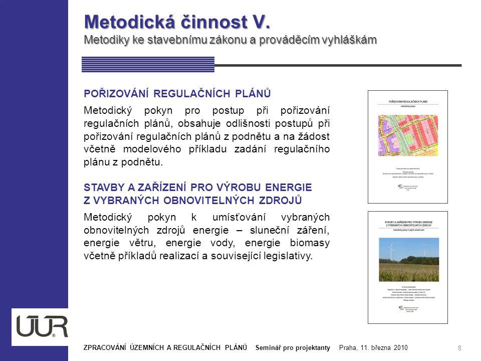 Publikační činnost ÚÚR IV.