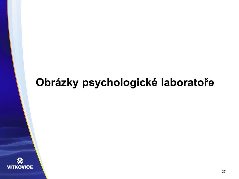 37 Obrázky psychologické laboratoře