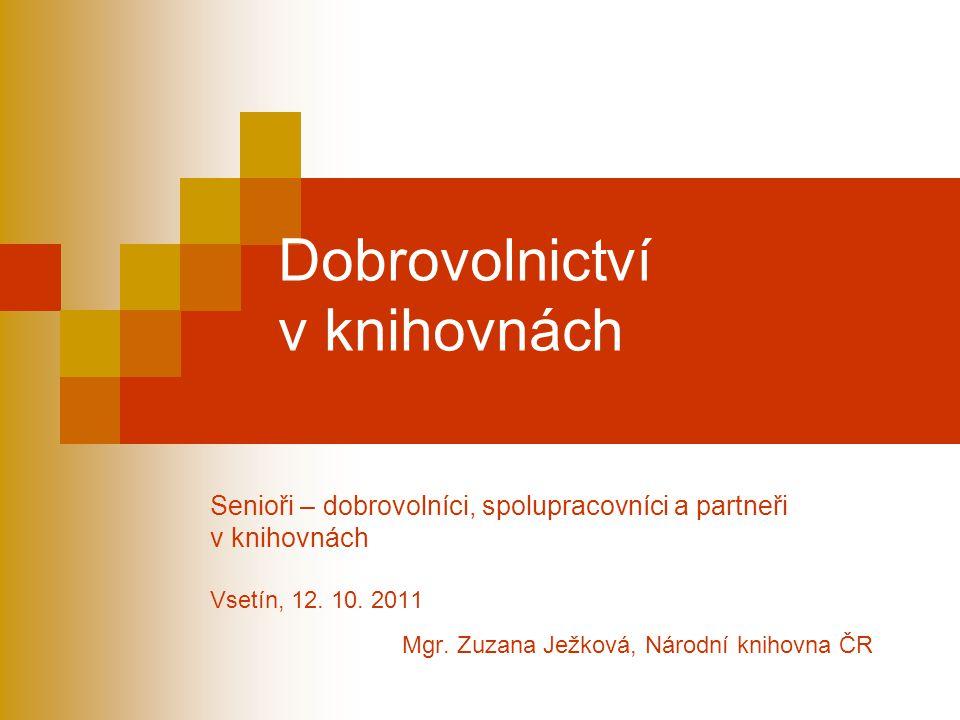 Díky za pozornost. Mgr. Zuzana Ježková Národní knihovna ČR zuzana.jezkova@nkp.cz