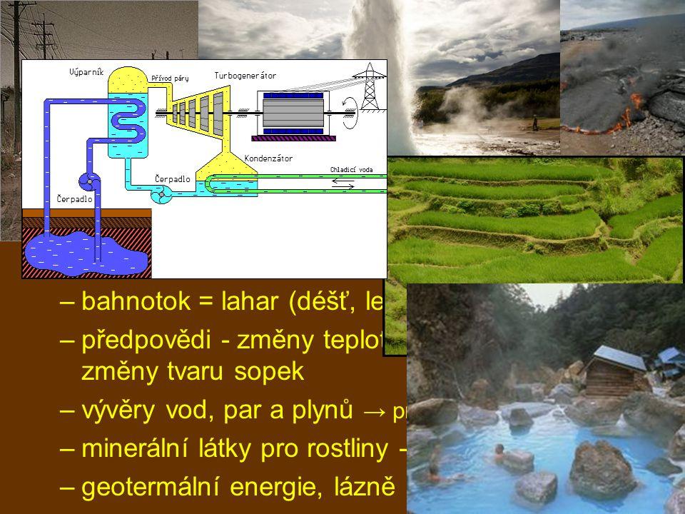 """vnitřní geologické děje vrásnění –miliony let –tavení hornin, výstup magmatu ← zmenšování """"úložného prostoru (dna oceánu) → zahřívání → plastické horniny → plastické poruchy → vrásové pohoří –antiklinála (sedlo) a synklinála (koryto) –přímá, šikmá, překocená, přesmyk –křehké poruchy: zlomy - zdvih, pokles, horizontálně → kerné pohoří - hrásť, příkopová propadlina, přesmyk"""