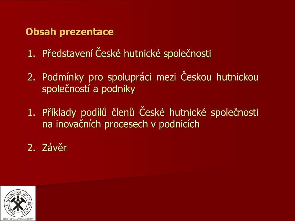 """4.Závěr  ČHS se přihlásila k projektu """"České inovační partnerství ."""
