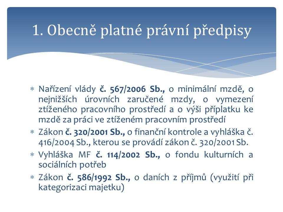  Zákon č.561/2004 Sb., školský zákon  Zákon č. 129/2000 Sb., o krajích  Zákon č.