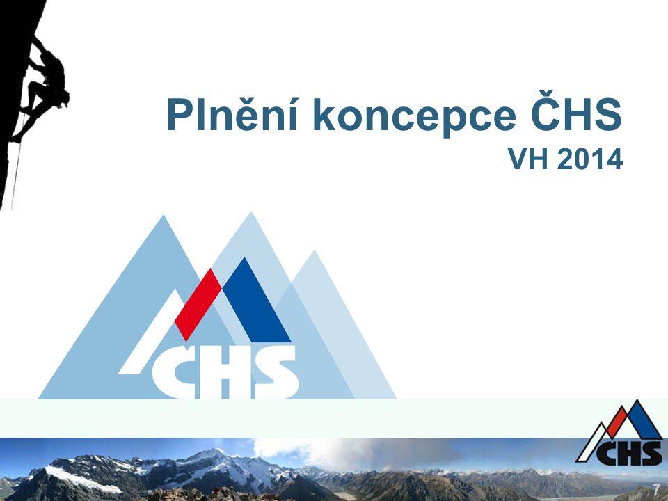 7 Plnění koncepce ČHS VH 2014