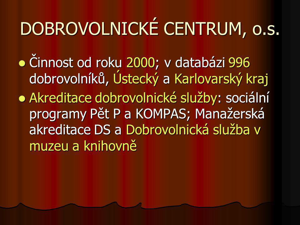 DOBROVOLNICKÉ CENTRUM, o.s.