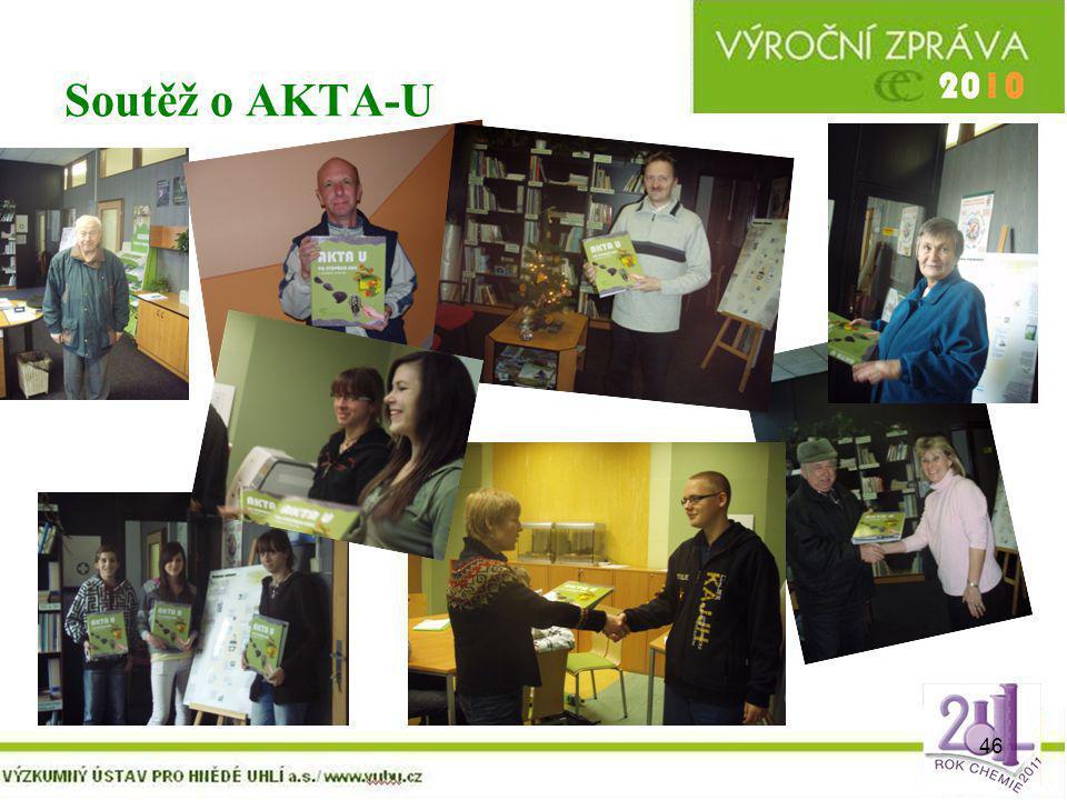 46 Soutěž o AKTA-U