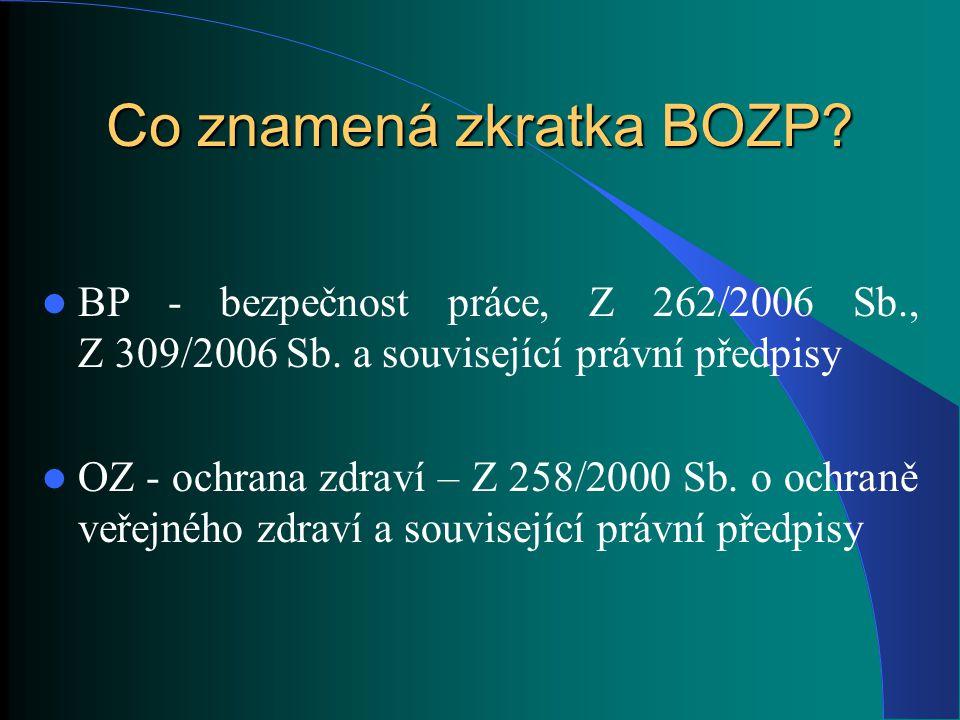 Zdravotnická legislativa od 1.4.2012 Zákon č.
