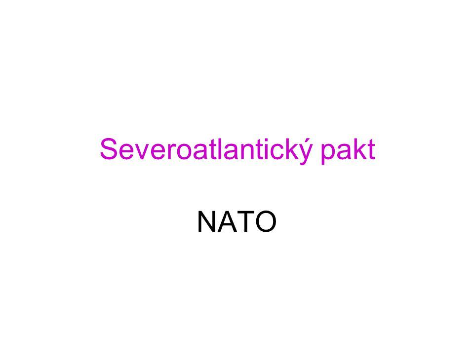 Severoatlantický pakt NATO