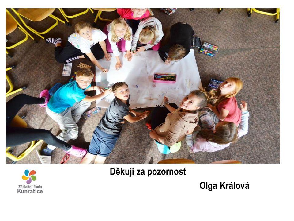 Děkuji za pozornost Olga Králová