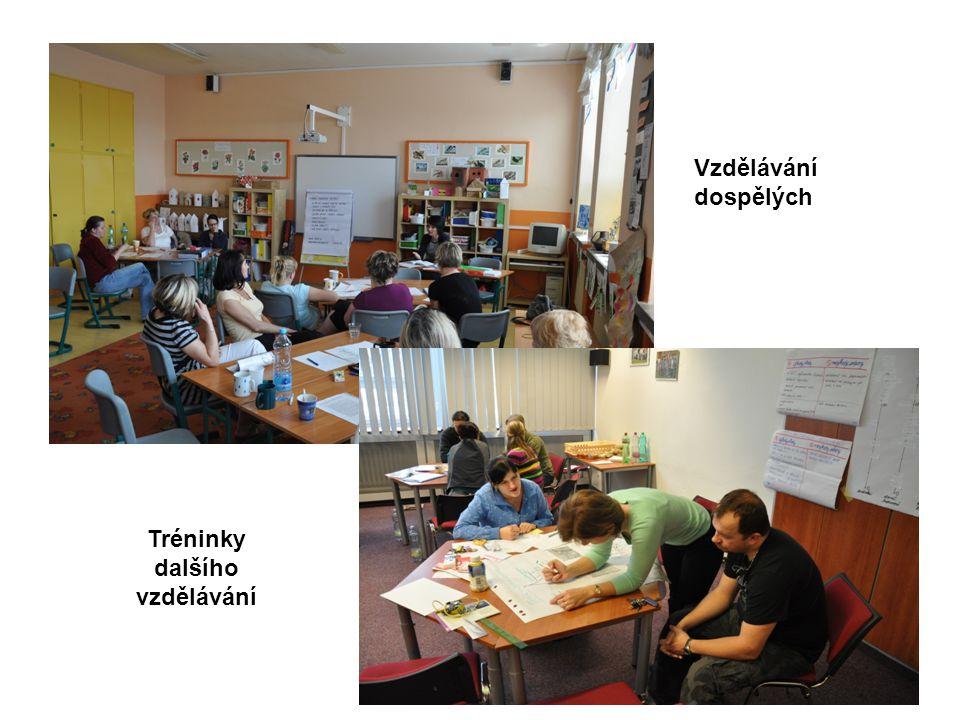 Vzdělávání dospělých Tréninky dalšího vzdělávání