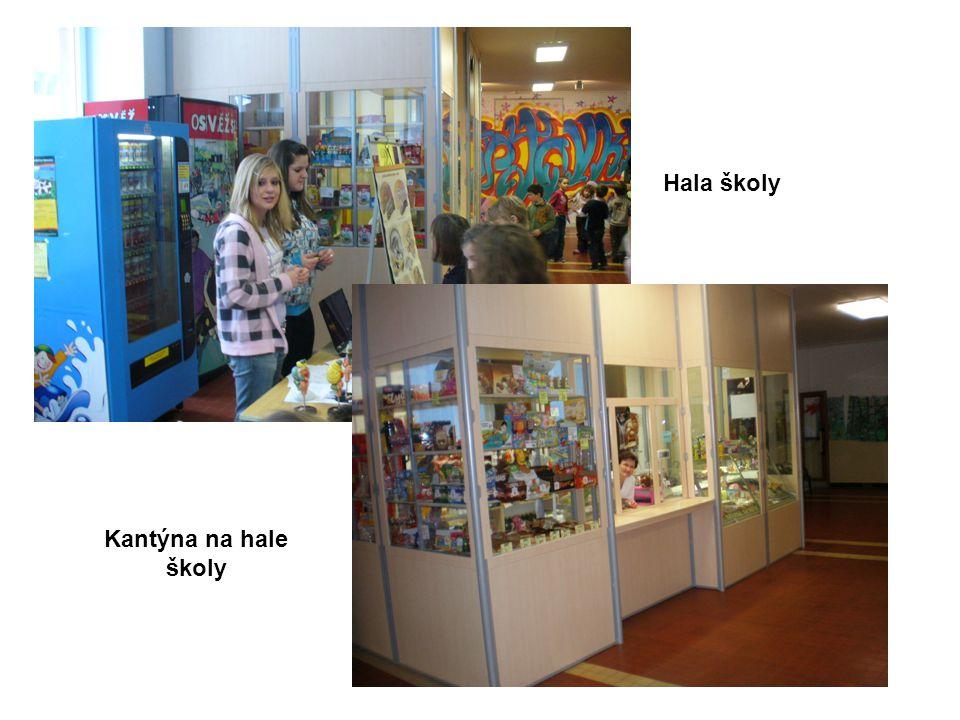 Hala školy Kantýna na hale školy