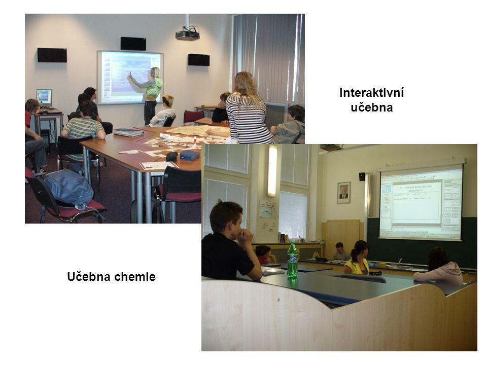 Učebna chemie Interaktivní učebna