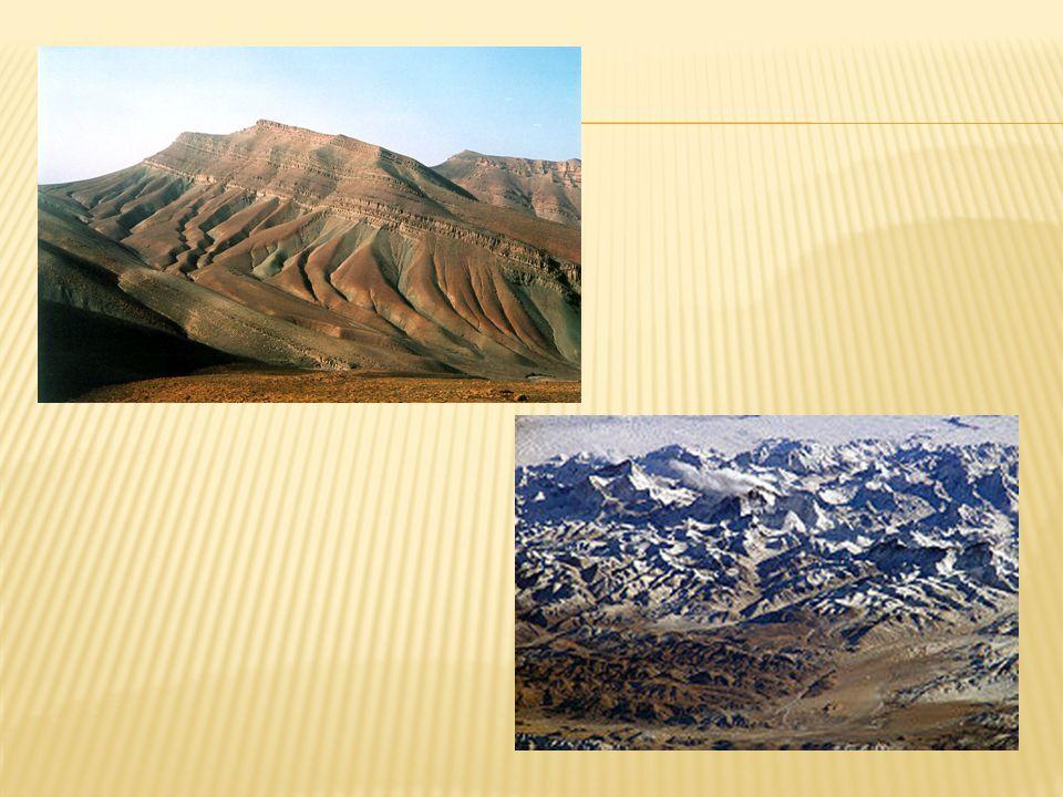 2) Kerná činnost je proces, při kterém vznikají kerná pohoří.