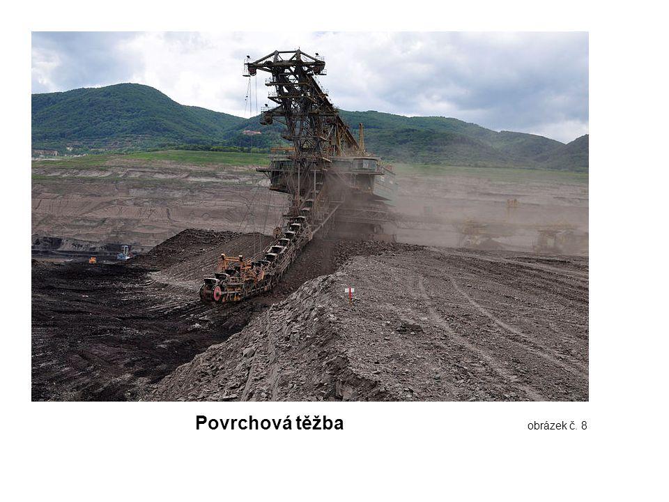 Povrchová těžba obrázek č. 8