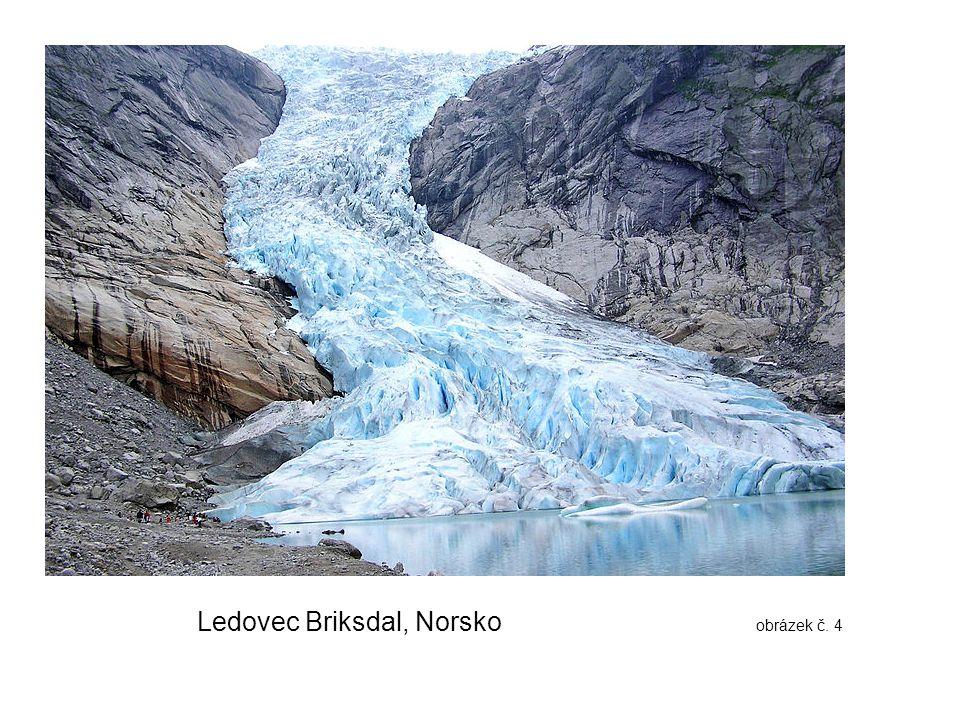 Ledovec Briksdal, Norsko obrázek č. 4