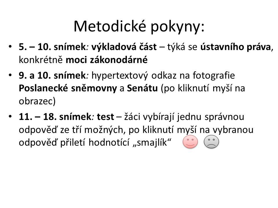 Metodické pokyny: 5. – 10.