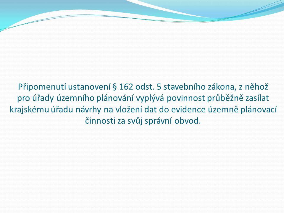 Připomenutí ustanovení § 162 odst.
