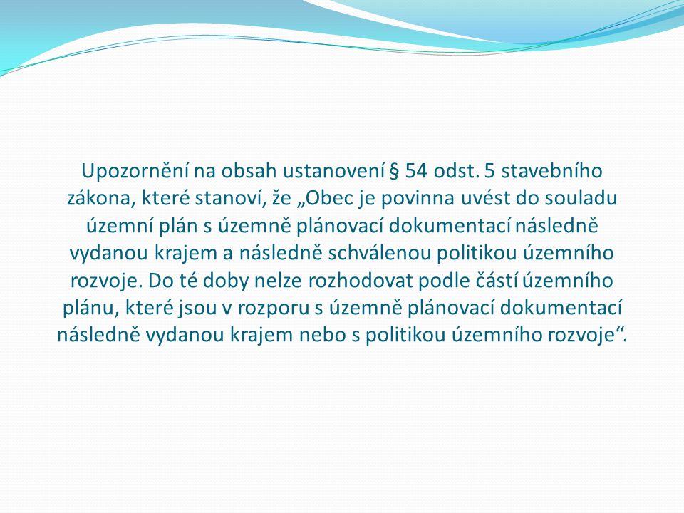 Upozornění na obsah ustanovení § 54 odst.