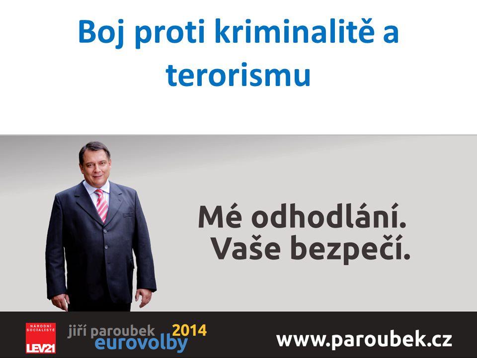 Boj proti kriminalitě a terorismu