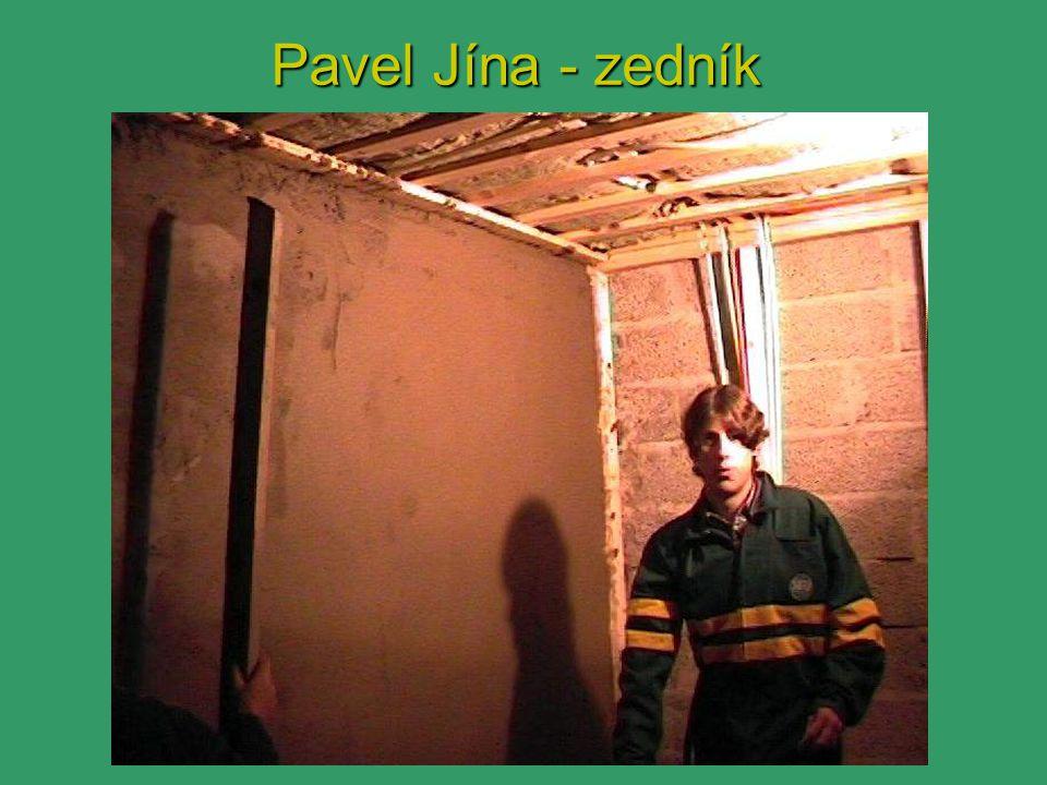 Pavel Jína - zedník