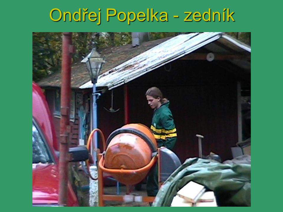 Ondřej Popelka - zedník