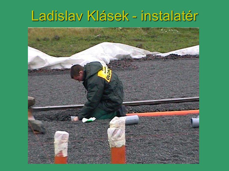 Ladislav Klásek - instalatér