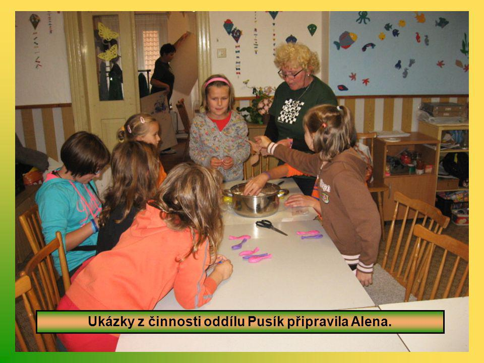 Oddíl Pusík převzal za uplynulý rok putovní pohár.