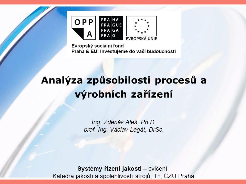 jednou z důležitých oblastí managementu jakosti je měření procesů.