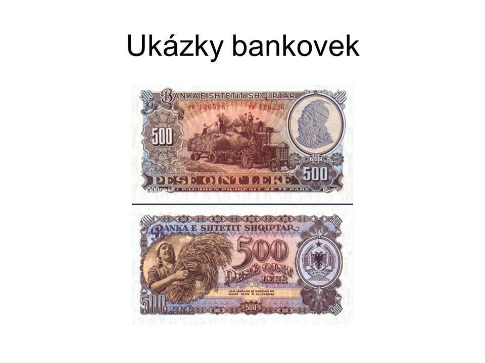 Ukázky bankovek