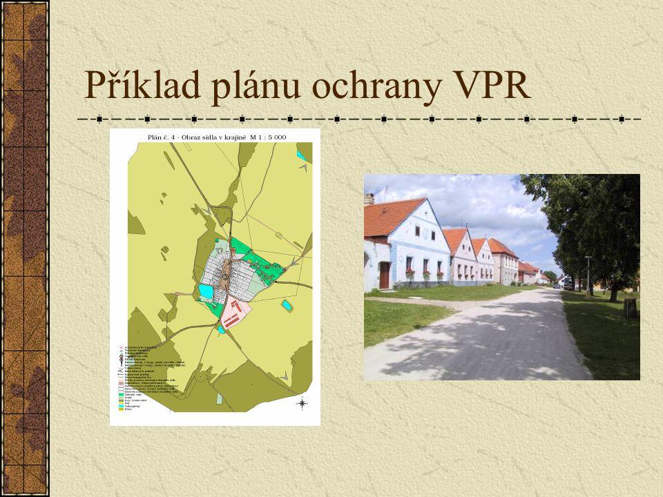 Příklad plánu ochrany VPR