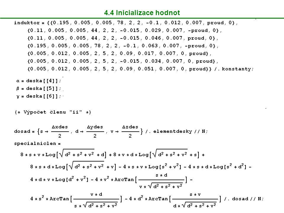 7.2 Srovnání výsledků s diferenciální metodou Rozložení hustoty vířivých proudů 0,5mm pod povrchem desky při frekvenci 1kHz (FEMLAB ® ) Řez tímto rozložením pro x=40mm (FEMLAB ® )