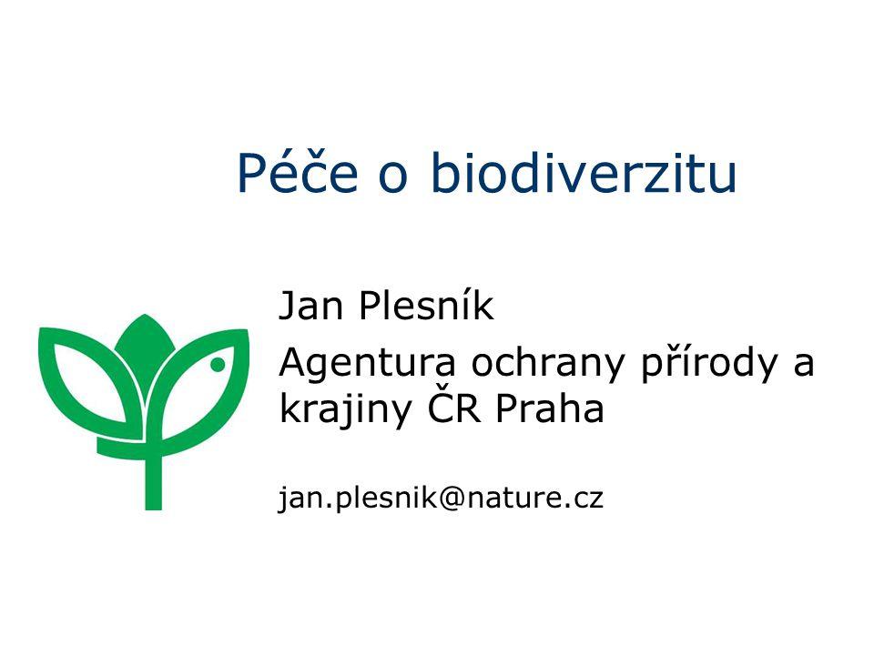 Ekosystémové služby Proč bychom měli chránit přírodu? Zkuste to vysvětlit tomuto chlapíkovi