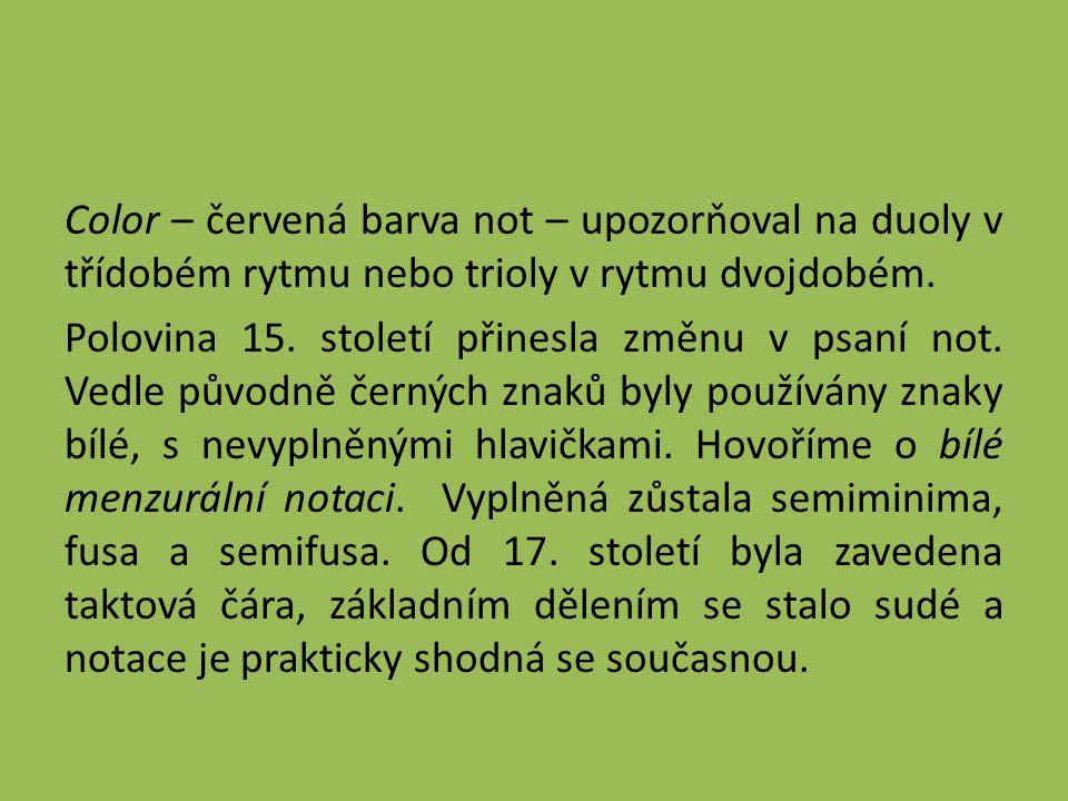 Otázky 1.Co je modus a jaké kombinace hodnot longa a brevis existovaly.
