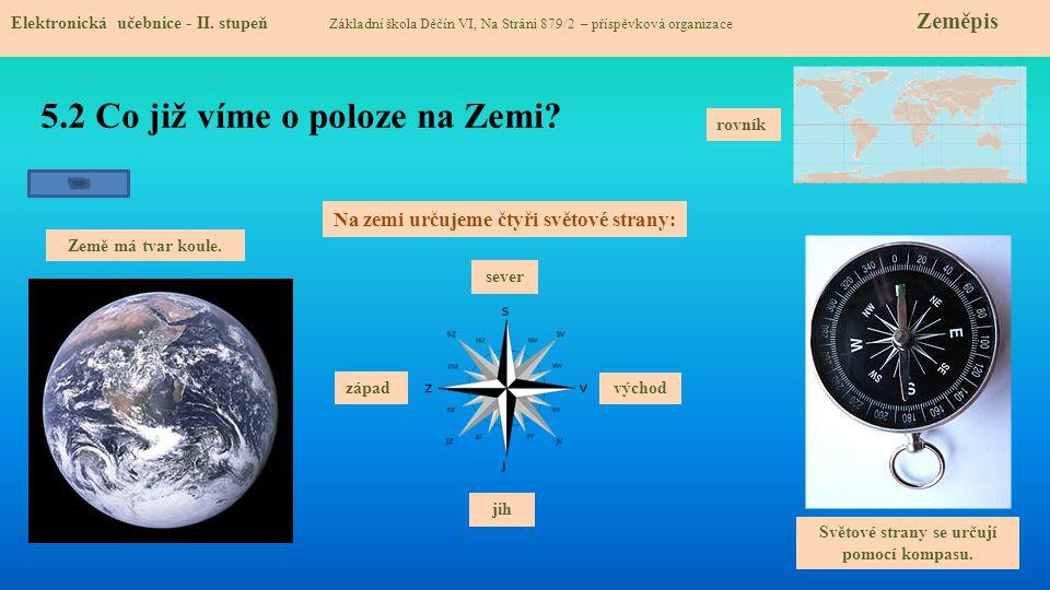 5.3 Jaké si řekneme nové termíny a názvy.Elektronická učebnice - II.