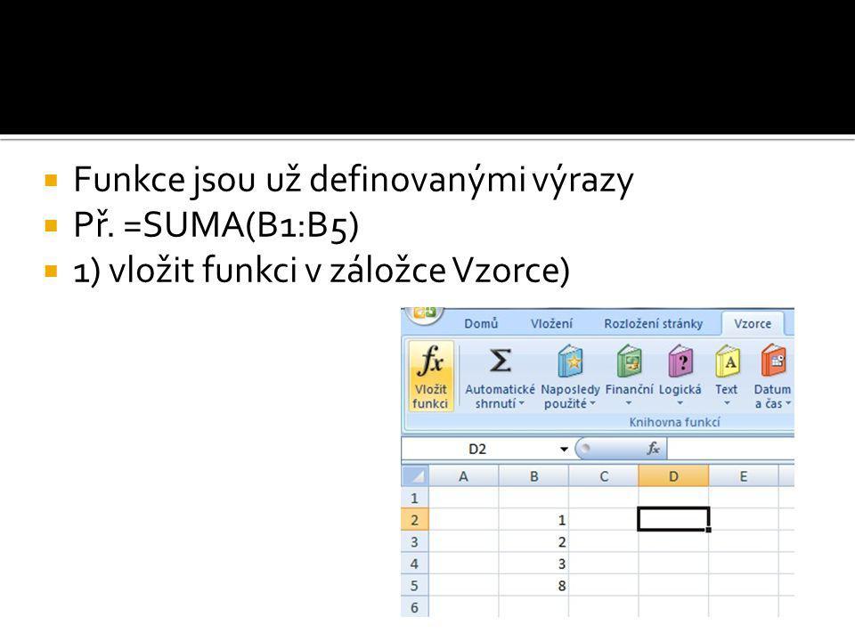  Na ose y se zobrazují naměřené hodnoty, na ose x jsou čísla, na kterých se odpovídající hodnota nachází v tabulce  Pokud to chceme změnit, otevřeme opět Vybrat data a v pravé části tabulky Popisky vodorovné osy dáme Upravit  Jako oblast dat zadáme datum naměřených hodnot  Stejným postupem upravíme i název Řada 1