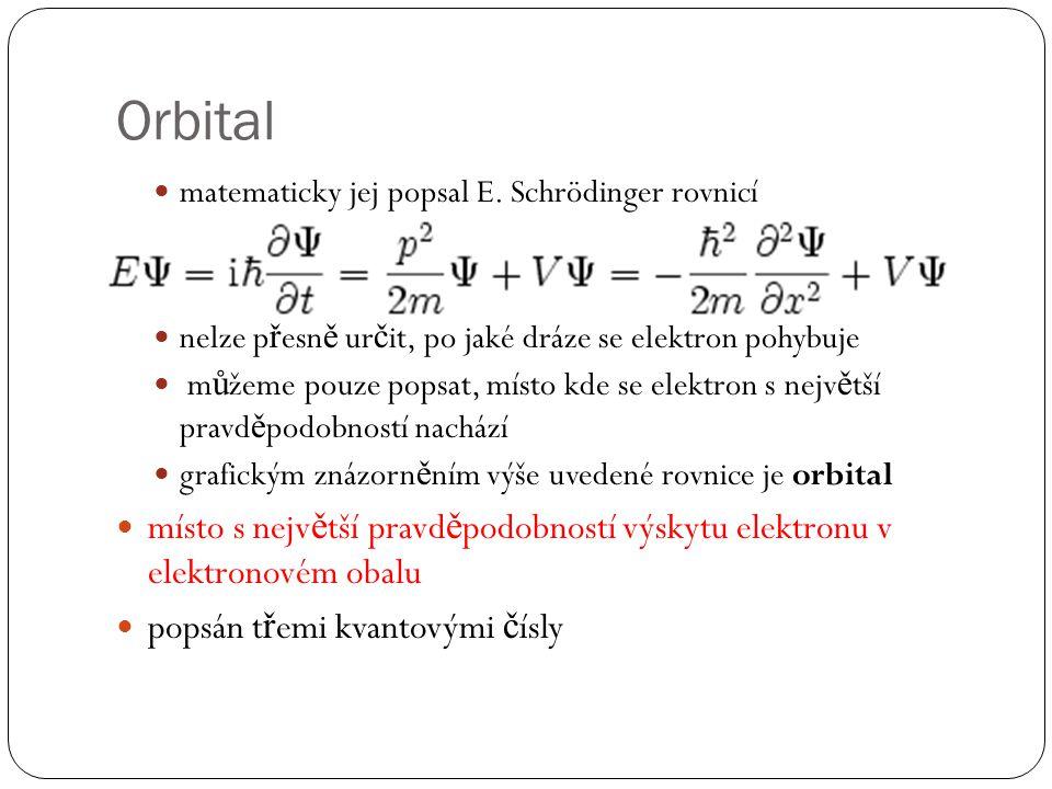 Orbital matematicky jej popsal E.