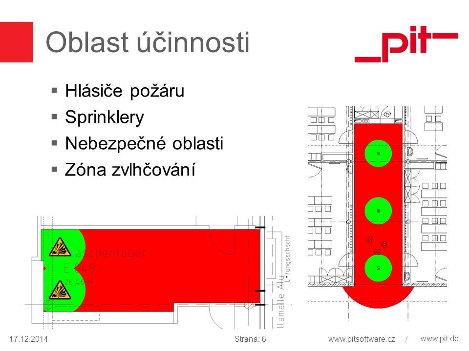 www.pit.de pit-Popis  Rozšíření popisu  Otopná tělesa do schématu s ID místnosti 17.12.2014Strana: 17www.pitsoftware.cz /