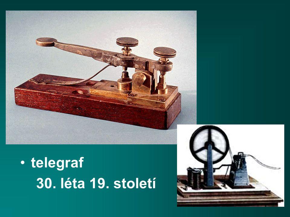 telegraf 30. léta 19. století