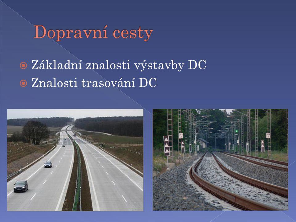  Základní znalosti výstavby DC  Znalosti trasování DC