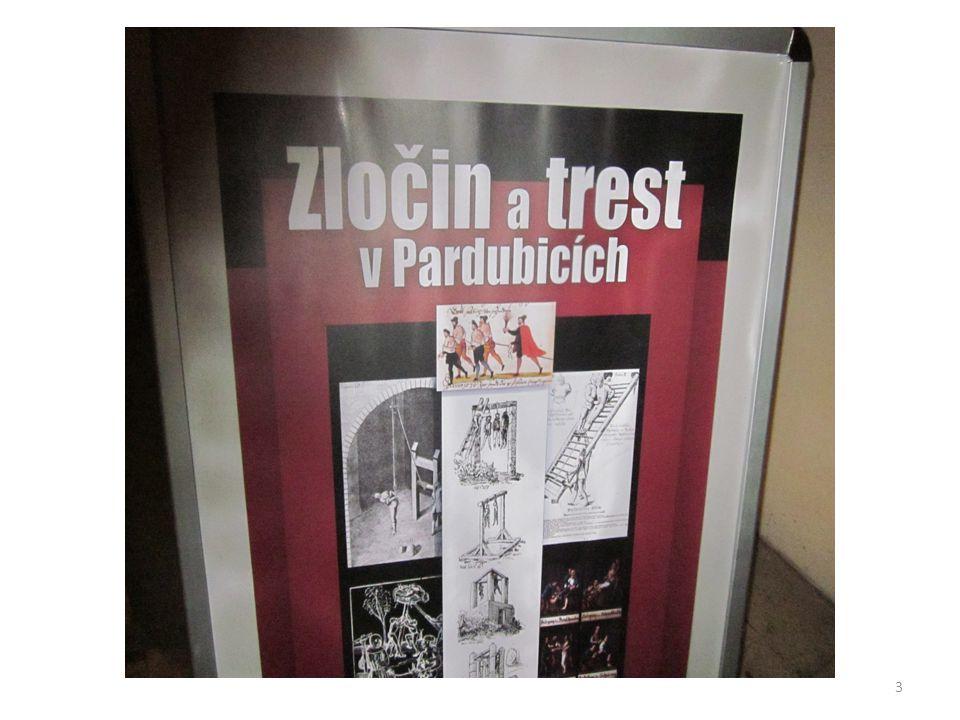 Místo konání výstavy VČM Pardubice - zámek 4