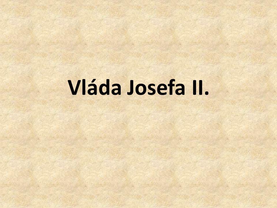 Jaký byl Josef II..