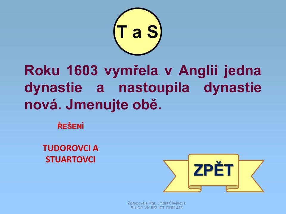 Roku 1613 nastoupila v Rusku nová dynastie.Uveďte její název i název dynastie, kterou vystřídala.