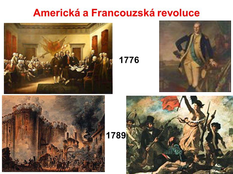 Americká a Francouzská revoluce 1789 1776