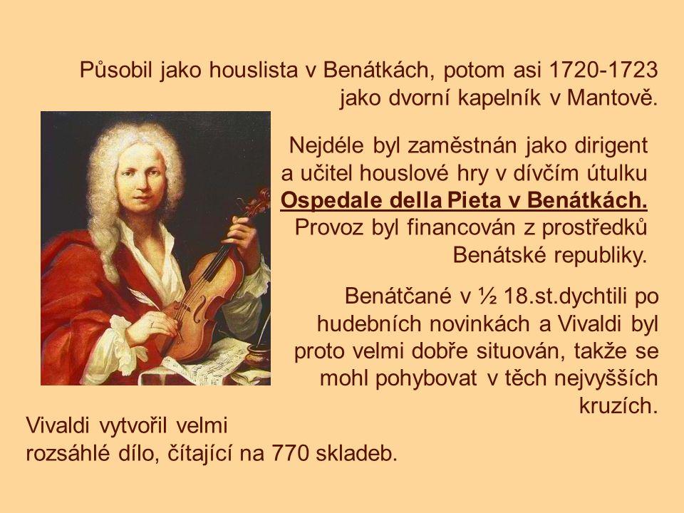 Působil jako houslista v Benátkách, potom asi 1720-1723 jako dvorní kapelník v Mantově. Nejdéle byl zaměstnán jako dirigent a učitel houslové hry v dí