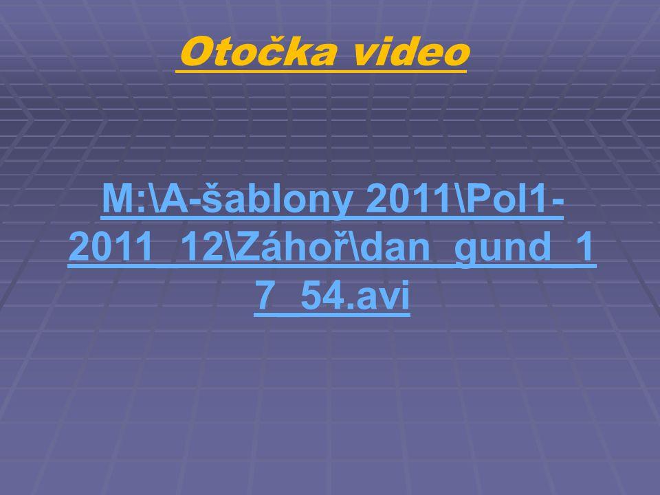 Otočka video M:\A-šablony 2011\Pol1- 2011_12\Záhoř\dan_gund_1 7_54.avi