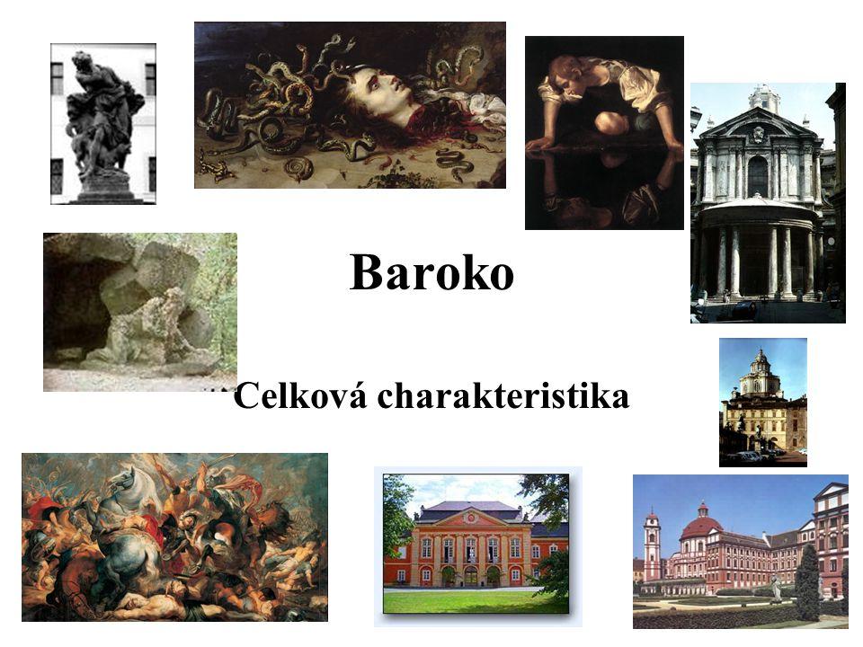 Baroko Celková charakteristika